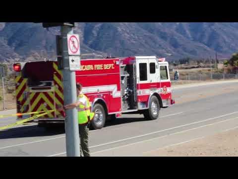 Vehicle Crash in Yucaipa on Oak Glen