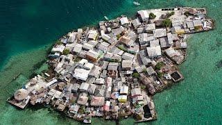Hòn đảo đông đúc nghẹt thở nhất thế giới Migingo