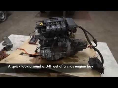 Фото к видео: Renault 1.2 D4F Cylinder Head Removal