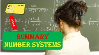 Summary NUMBER SYSTEMS in HINDI