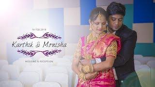 Seramal Ponaal | Karthik & Monisha | Wedding & Reception | WowWeddings