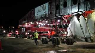 Transport, Night 1: The Making of Levitated Mass