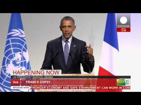 COP 21: Obama's full speech at Paris conference - live