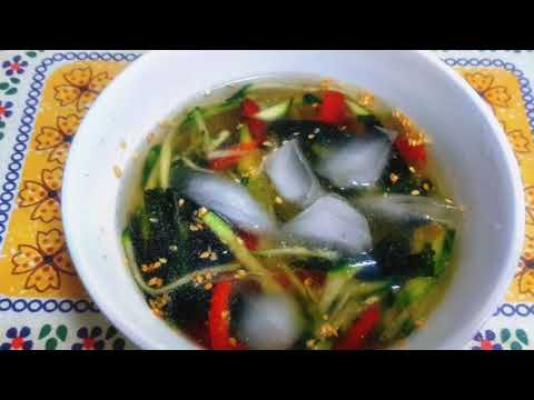 cold-cucumber-and-seaweed-soup-(-오이미역냉국)#02