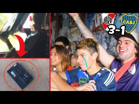 HINCHA de BOCA se ENOJA y ROMPE TV | Reacción River 3 - Boca 1 | Final Libertadores