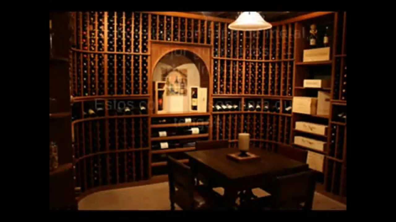 Ideas de cavas cuartos de vino bodegas de vino en casa - Bodegas en sotanos de casas ...