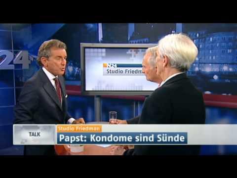 Studio Friedman - Ist die Katholische Kirche noch zeitgemäß? (Sendung vom 22.09.2011)