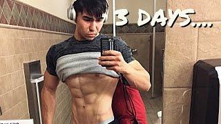 3 Days Out - Peak Week | Back Stimulation Workout | Show Prep