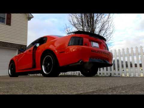 Mustang GT BBK longtube headers, Catted BBK X pipe, Magnaflow glasspacks exhaust