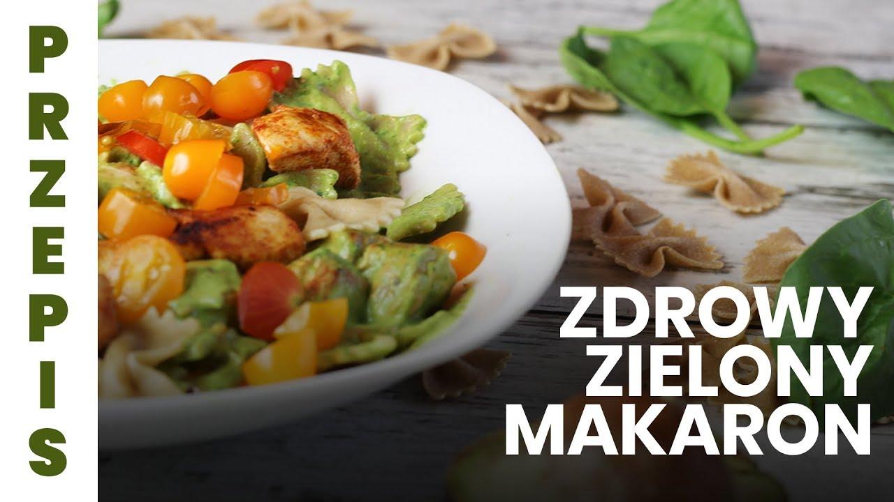 FIT obiad: przepis na zielony makaron!  | Codziennie Fit