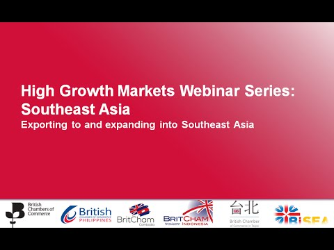 BCC Webinar Series: Doing business in Southeast Asia