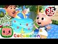Birthdayal Chairs + More Nursery Rhymes & Kids Songs - CoComelon