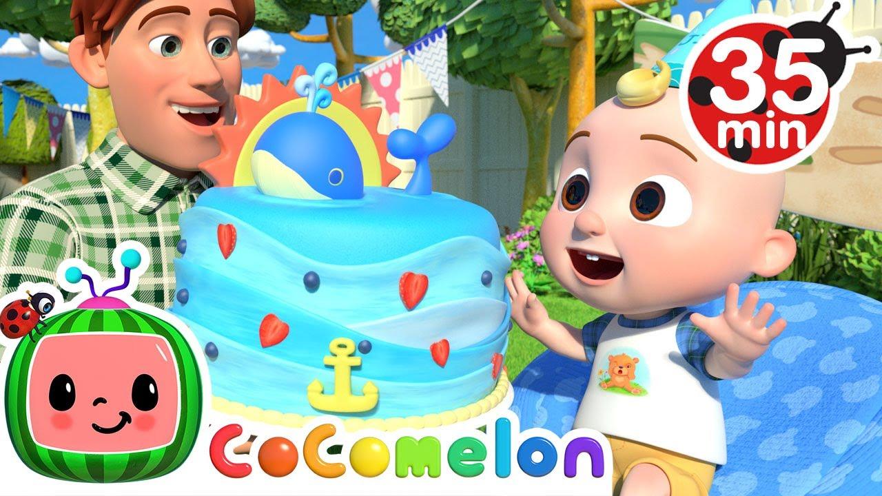 Birthday Musical Chairs  More Nursery Rhymes u0026 Kids Songs  CoComelon
