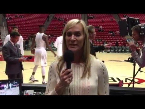 AJ Sports - SDSU Aztecs Vs Nicholls Colonels Pre-Game NCAA Men's Basketball Game 12-10-2015