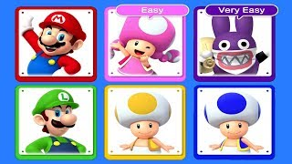 New Super Mario Bros. U Deluxe - All Characters