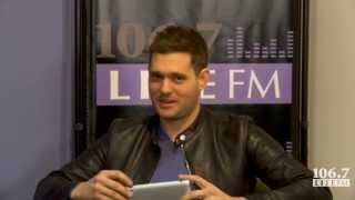 MICHAEL BUBLE - Interview 2013 - New York 106 7 Lite fm c/ Subt.