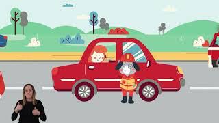 Bezpieczeństwo na drodze, kompilacja filmów edukacyjnych dla dzieci