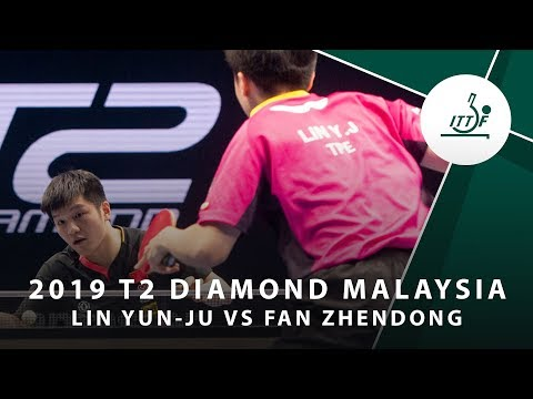 Lin Jun-Yu Vs Fan Zhendong | T2 Diamond Malaysia (Men's Final)