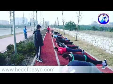 Hedef Besyo Ankara 2017 kondisyon antrenmanları