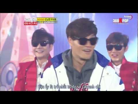 Monday Couple moment and Turbo Jong Kookie - RM 122 [vietsub]