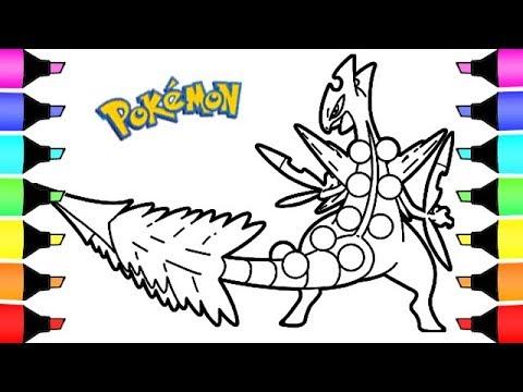 Pokemon Coloring Mega Sceptile Colouring book videos for