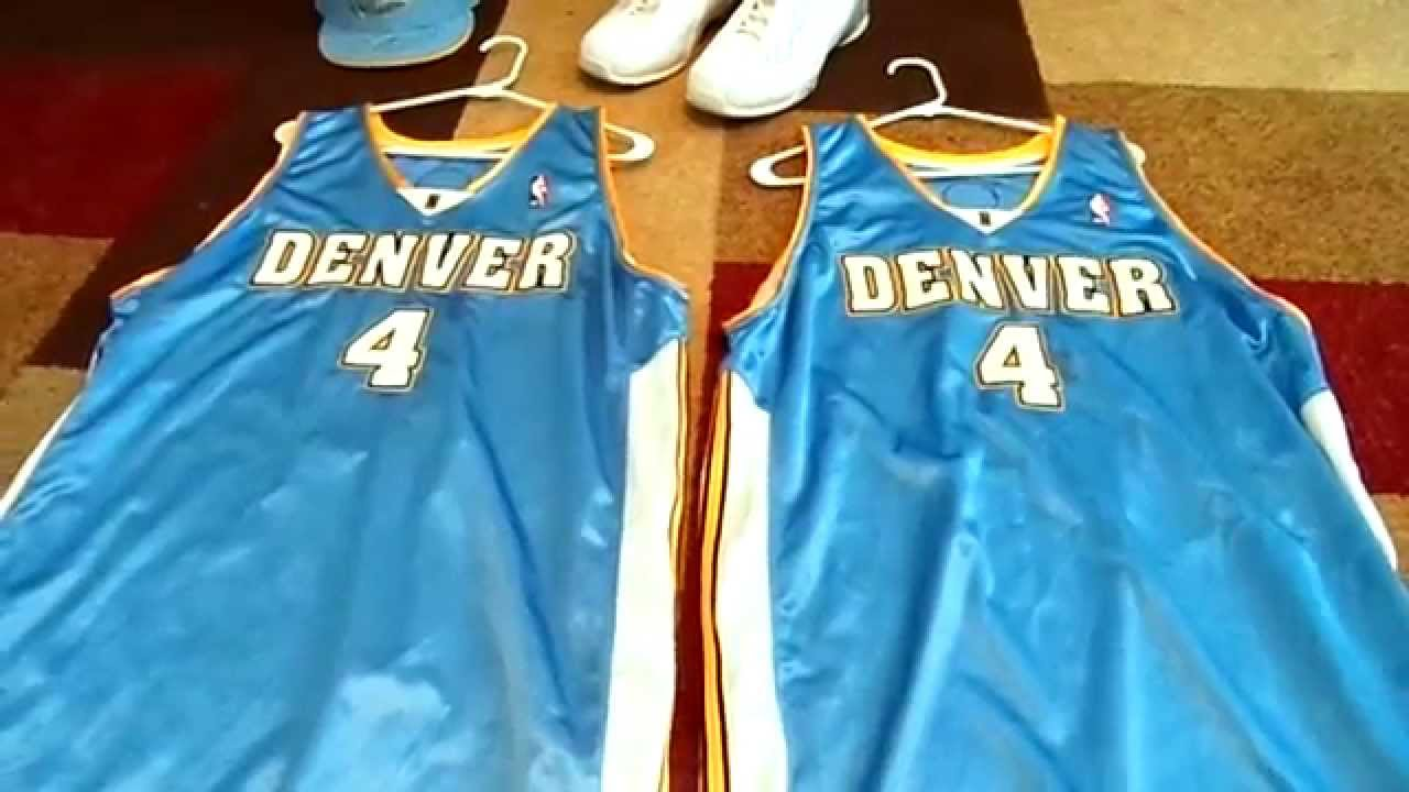 52629d769ba8 ... My Kenyon Martin Denver Nuggets Signed Game-Used PC ...