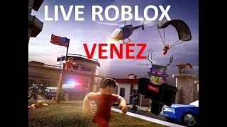 LIVE ROBLOX VENEZ NOMBREUX!!! OBJETIVO 150 ABOS #ROBLOX