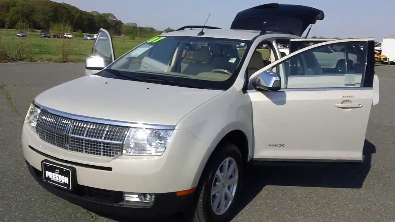 Used Car For Sale 2007 Lincoln MKX Sports Utility 27000 Miles V6