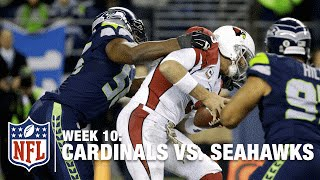 Seahawks Defense Takes the Lead! | Cardinals vs. Seahawks | NFL