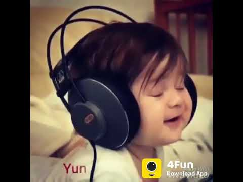 Small Baby Singing A Song Cute