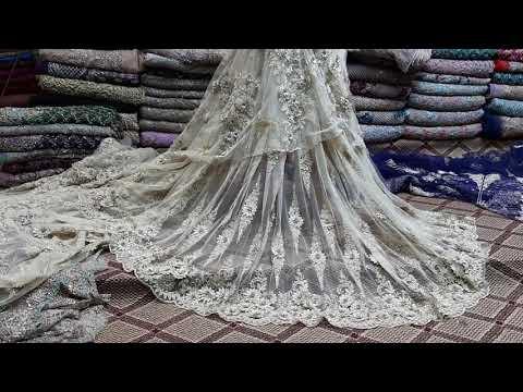 Net Fabric Pakistani And Work Frock Maxi Saree Sharara Peplum Har Tarah Style Kar Sakte Ho Karachi B