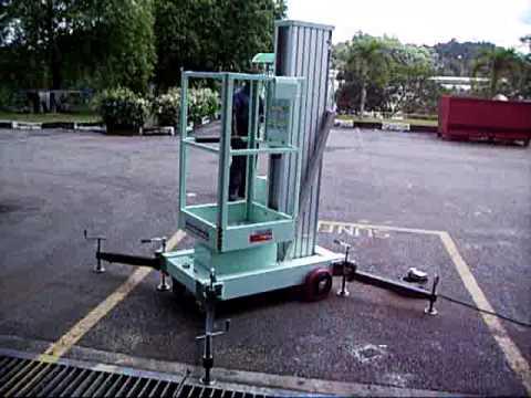 OIC Lift - Aerial Work Platform Single Mast - AWP - Penang Malaysia - www.hpe.my
