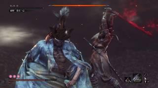 Sekiro 隻狼: 最終BOSS 外鄉人之扑傻瓜大法 爺爺輕鬆過 /Final Boss easy way to kill