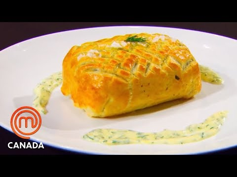 How To Make A Salmon Wellington | MasterChef Canada | MasterChef World