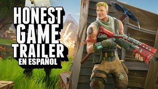 FORTNITE (Honest Game Trailers en Español)