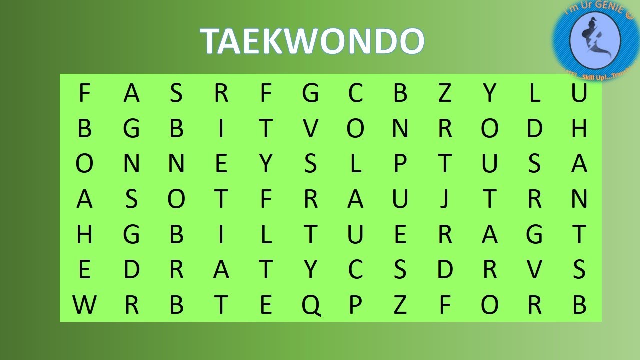 Olympic games - crosswords | #SkillupwithGenie #Brainteaser #Crossword