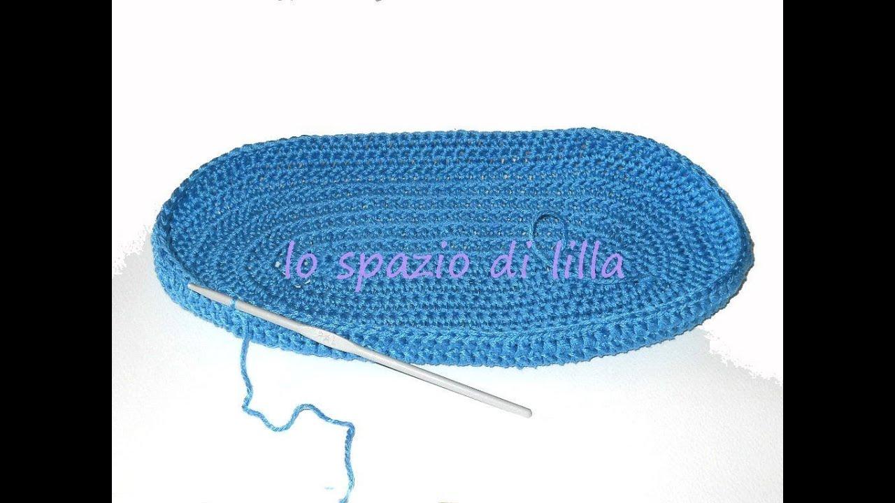 Lillas Tutorials Come Fare Una Base Crochet Per Borsa Youtube