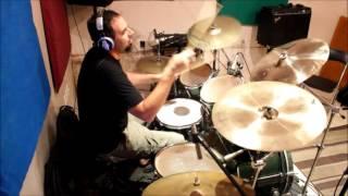 Colt .45 - Fragments of a Smashed Skull - Drum recording session 2014