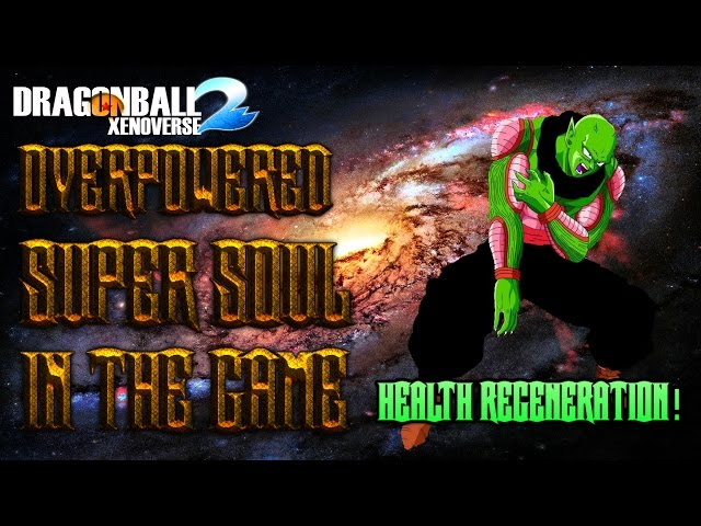Dragon Ball Xenoverse 2- New Most Op Super Soul(Zsoul) In