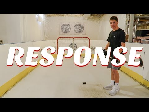 MY RESPONSE (Hockey Challenges vs. Sam Coons)