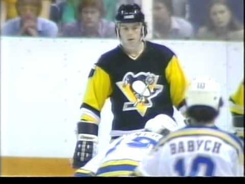 St  Louis Blues  vs  Pittsburgh Penguins 1981 04 14