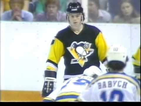 St  Louis Blues  vs  Pittsburgh Penguins 1981 04 14