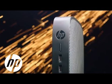 HP T640 Thin Client - Highly Secure, Extremely Versatile. | HP Thin Clients | HP