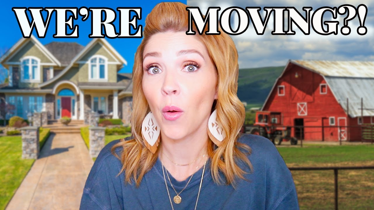 Exciting News!!! \\ Moving our BIG Family to a Farm?!?!