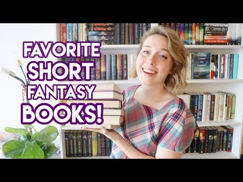My Favorite SHORT Fantasy Books! (Fantasy Recs Under 400 Pages!)