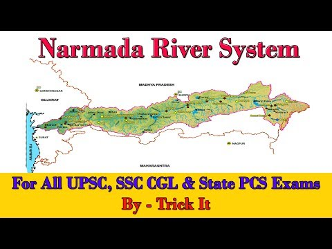 Narmada River System | UPSC, SSC CGL