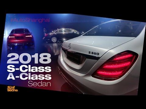 Mercedes S-Class Facelift & Concept A-Class Sedan (German)