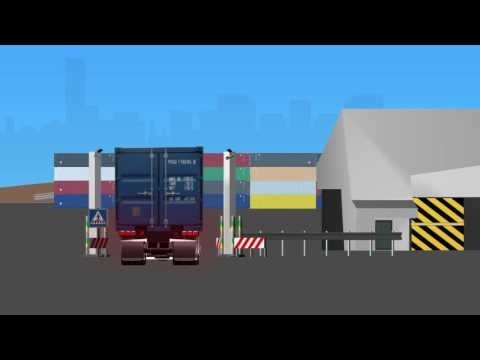 Animatie Rotterdam Short Sea Terminals