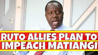William Ruto allies Plan to Impeach Fred Matiangi Over Uhuru and Raila Odinga