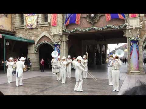 Maritime band at Tokyo Disneysea